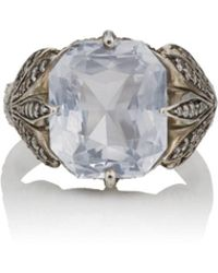 Cathy Waterman - Passion Fruit Flower Ring - Lyst
