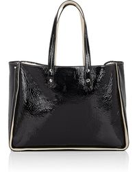 Fontana Milano 1915 - Tum Tum Patent Leather & Shearling Tote Bag - Lyst