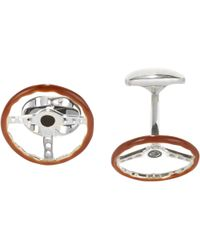 Deakin & Francis - Steering Wheel Cufflinks - Lyst