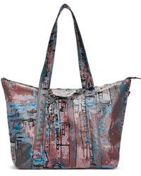 Sies Marjan Vada Coated City Print Tote Bag