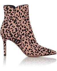 593fcd4d962f Lyst - Christian Louboutin Fifi Leopard-Print Calf Hair Boots