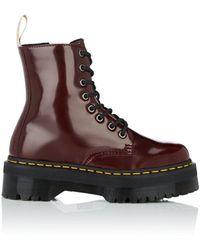 Dr. Martens - Jadon Faux-leather Platform Ankle Boots - Lyst
