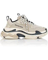 f8b83e33e6b Lyst - Balenciaga Triple S Sneakers in White for Men