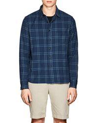 Simon Miller - Thayne Plaid Cotton Shirt - Lyst