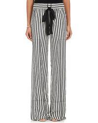 Derek Lam - Silk Pajama-style Wide - Lyst