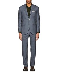 Canali - Capri Wool Two-button Suit - Lyst