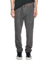 James Perse - Cotton Jogger Trousers - Lyst