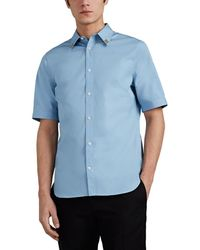Alexander McQueen - Embellished Cotton Poplin Shirt - Lyst