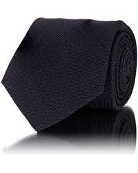 Kiton - Pin-dot Wool Micro-faille Necktie - Lyst