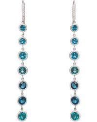 Finn - Tourmaline Cascade Earrings - Lyst