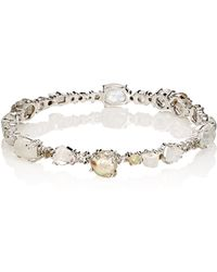 Sharon Khazzam - Women's Mixed-gemstone baby Bangle - Lyst
