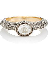 Munnu | White Diamond Ring | Lyst
