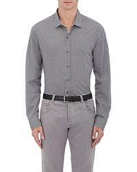 Ralph Lauren Black Label - Checked Cotton Dress Shirt - Lyst