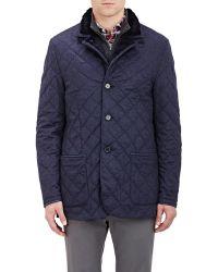 Enrico Mandelli - Fur-lined Cashmere Felt Jacket - Lyst