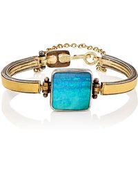 Judy Geib - Women's Boulder Opal Bar-link Bracelet - Lyst