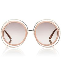 Chloé - Carlina Sunglasses - Lyst