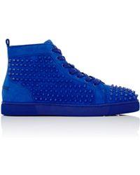 Christian Louboutin | Men\u0027s Louis Flat Sneakers | Lyst