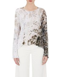 Gilda Midani - Women's Tie-dyed Trap Top - Lyst