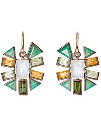 Nak Armstrong - Gemstone Drop Earrings Size Na - Lyst