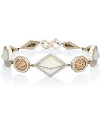 Monique Péan - Mixed-gemstone Geometric-link Bracelet - Lyst