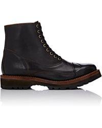 Julian Boots - Wingtip Cap-toe Boots - Lyst