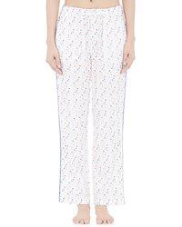 Sleepy Jones - Dot-embroidered Marina Pyjama Trousers - Lyst