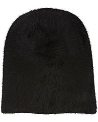 Barbisio - Slouch Knit Angora-blend Hat - Lyst