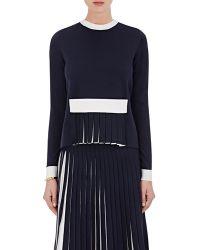 Orley - Merino Wool-blend Pleated Sweater - Lyst