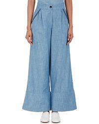 Banjanan - Garbo Wide-leg Trousers - Lyst