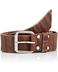 Comme des Garçons - Debossed Leather Belt - Lyst