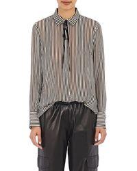 R/R Studio - Striped Shirt - Lyst