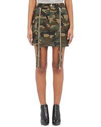 Hood By Air - Uniform Triple Miniskirt - Lyst