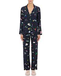 Mira Mikati - Toy-print Silk Pajama Set - Lyst