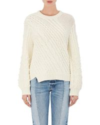 Rhié - Mixed-stitch Sweater - Lyst