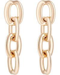 Sidney Garber - Women's Squared Oval-link Drop Earrings - Lyst