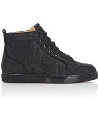 a54c2a6d537 Christian Louboutin Rantus Orlato Sneakers Black