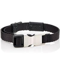 Prada Webbed Fabric Bracelet Lyst