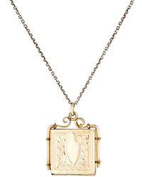 Julie Wolfe | Victorian Locket Necklace | Lyst
