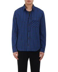 Aztech Mountain - Cotton Flannel Overshirt - Lyst