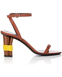 Balenciaga - Bistrot Leather Ankle - Lyst