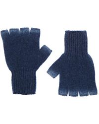 The Elder Statesman - Sprayed Fingerless Gloves - Lyst