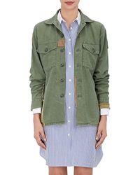 813 Ottotredici - Patchwork Cotton Field Jacket - Lyst