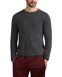 Barneys New York - Active Cashmere® Crewneck Sweater - Lyst