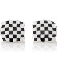 Deakin & Francis - Checkerboard Cufflinks - Lyst