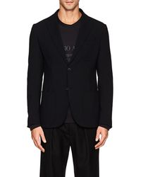 Giorgio Armani - Tokyo Stretch-wool Two-button Sportcoat - Lyst