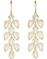 Irene Neuwirth - Leaf Drop Earrings - Lyst