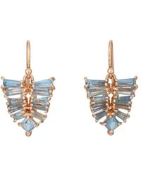 Nak Armstrong - Mosaic Leaf Drop Earrings - Lyst