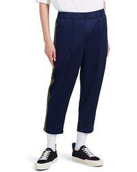 Comme des Garçons - Striped Tech-jersey Track Pants - Lyst