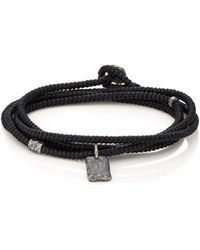 M. Cohen - Tag On Cord Wrap Bracelet - Lyst