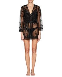 Cosabella - Seymour Floral Lace Robe - Lyst